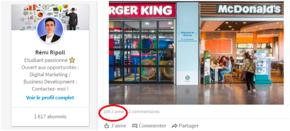 trouver son job ou stage sur Linkedin
